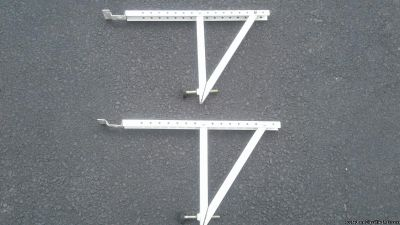 AIR CONDITIONER MOUNTING SUPPORT BRACKETS