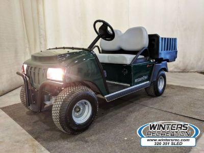 2018 Club Car CarryAll Electric Utility Golf Cart, Green