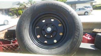 Set of 4 SUV/Truck tires & rims