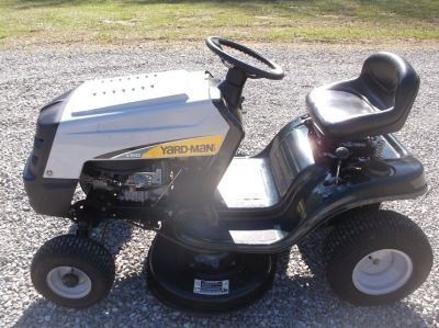 Yard Man riding mower