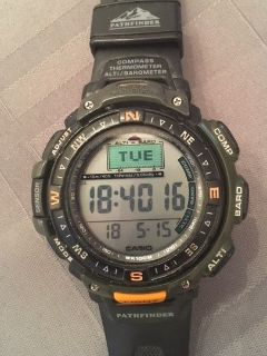 Casio Pathfinder Watch Triple Sensor
