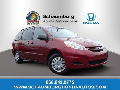 2007 Toyota Sienna CE 7-Passenger (Salsa Red Pearl)