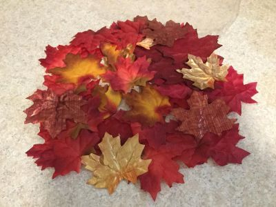 Beautiful Fall Leaves for Table Centerpiece or Mantle