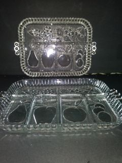Two serving trays