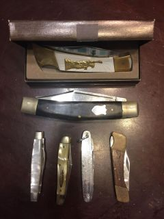 6 old knives