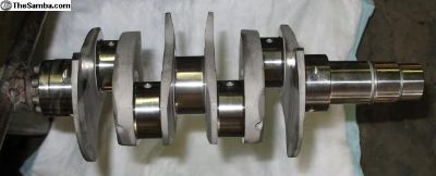 VW Chevy Stroker 4140 Chromoly Forged Crankshafts
