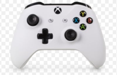 Xbox controller, headset and games