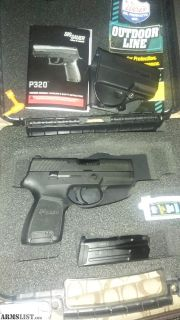 For Sale: Nice Sig P320 Compact 9mm