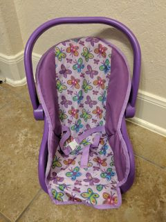 Purple Baby Doll Carrier