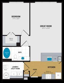 1 bedroom in Abingdon