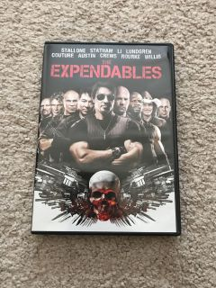 Expendables DVD
