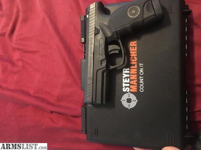 For Trade: Steyr L9-A1 with Vedder IWB holster