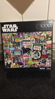Star Wars puzzle build once $3.00