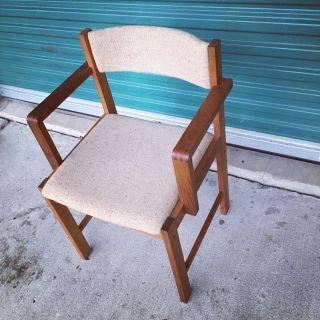 Vintage Mid Century Modern Teak Chair