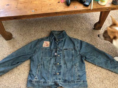 Vintage Jean Jacket, Large