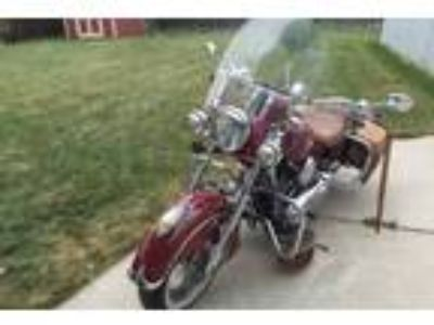 2003 Indian Chief Vintage Red 1650cc