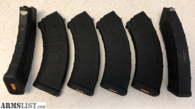 For Sale: MAGPUL PMAG 10/30 (GEN M3) for AK/AKM 7.62x39 MAGAZINES (6 in Total)
