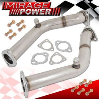 Buy For G35 350Z VQ35DE Engine Cat Delete Header Exhaust Resonated Flex Test Pipe motorcycle in La Puente, California, United States, for US $66.99