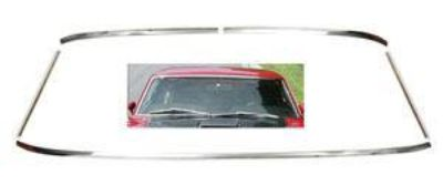 Sell 1969-1970 FASTBACK MUSTANG 5 WINDSHIELD MOLDING KIT motorcycle in Manchester, Connecticut, US, for US $126.95