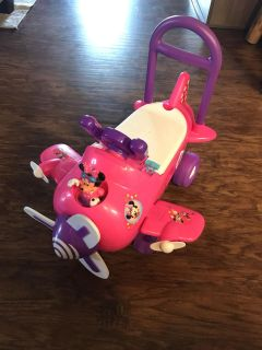 Minnie Mouse Ride-On Airplane