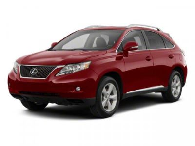 2010 Lexus RX 350 Base (Red)