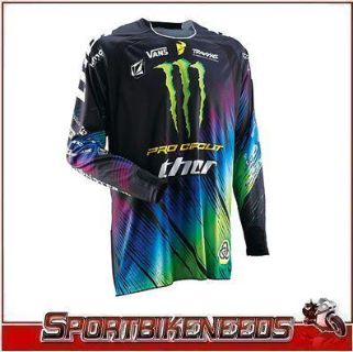 Find Thor 2012 Core Monster Pro Circuit MX Motorcross ATV Jersey XXL 2X-Large NEW motorcycle in Elkhart, Indiana, US, for US $59.95