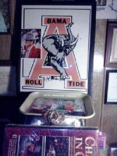 "$700 Alabama Paul ""BEAR"" Bryant collectible items"