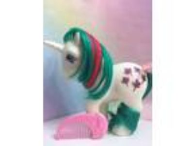 MY LITTLE PONY G1**Gusty** Unicorn Pony(Vintage) MINT Near