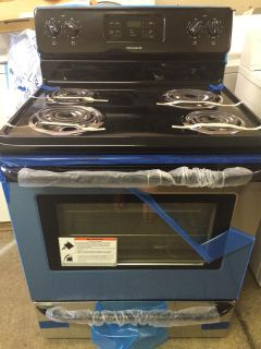 $450, New Scratch  Dent Frigidaire 30 Electric Range in Stainless Steel