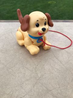 Fisher price walk along puppy