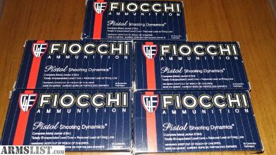 For Sale: Fiocchi 40 sw 180gr cmj