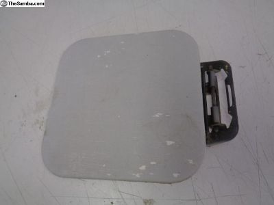 OG White Early Bay Bus Gas Door Flap