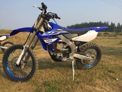 2019 Yamaha YZ450FX Competition/Off Road Motorcycles Sandpoint, ID