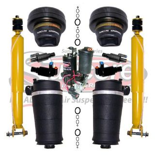 Buy 4Wheel Suspension Air Spring Bags, Solenoids, Compressor & Rear Shocks Kit motorcycle in Pompano Beach, Florida, US, for US $799.00