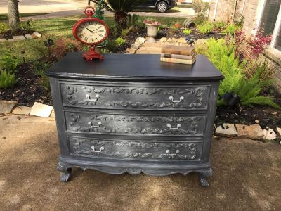 Beautiful refinished dresser solid wood