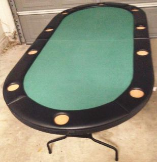 $150, Poker tables- 2 in very good cond
