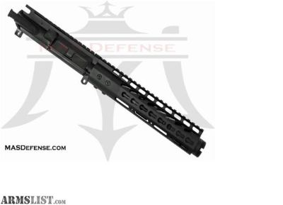 "For Sale: MAS Defense 7.5"" 5.56 / .223 BARRELED UPPER - GTLKM 9"" - KEYMOD 5.56, .223 WYLDE, AR15 AR 15 AR-15"