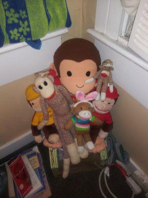 Beanie babies and stuffed animals