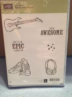 Stampin up Epic Celebrations (New)