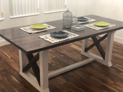 Handmade Farmhouse Table