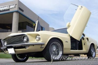 Purchase VDI FM6970 - 69-70 Ford Mustang Vertical Doors Conversion Kit motorcycle in Corona, California, US, for US $995.00