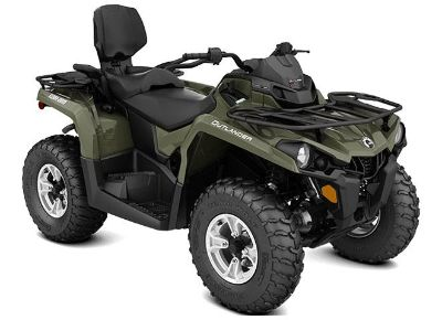 2018 Can-Am Outlander MAX DPS 570 Utility ATVs Grantville, PA