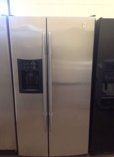 GE Stainless Steel Side by Side Fridge