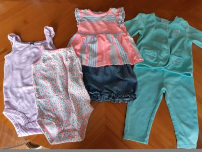 4 x Cute outfits size 9