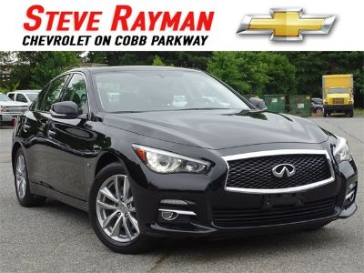 2015 Infiniti Q50 Base (Black Obsidian)
