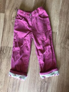 Brand new with knit lined bottoms Gymboree corduroy pants with pockets in back too.