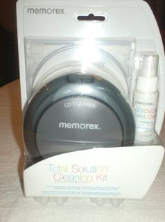 memorex cd/dvd cleaning kit