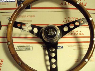 FS: Wood rimmed steering wheel.