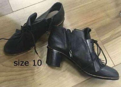 Leather Shoes Women Size 10 May 20/21 Sale