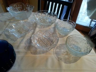 antique crystal bowls